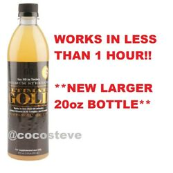 ULTIMATE GOLD 20 OZ DETOX DRINK Works in One Hour! Detoxify,Cleans Impurities