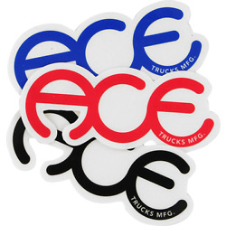 ACE RINGS 3.5'' STICKER ASSORTED (2 pack)