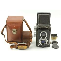 Kyпить 【 EXC+5 w/Case, Hood 】Airesflex TLR Camera 75mm f/3.5 Lens From JAPAN #071 на еВаy.соm