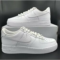 Nike Air Force 1 '07 Low Triple Men's White CW2288-111 ALL SIZES New 7-15