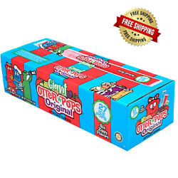 Otter Pops Fast Freeze Ice Bars 5.5 Oz 6 Flavors King Size Ready To Eat 27 Count
