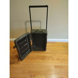 Pelican Elite Luggage Series carry-on case - Glue Residue - No combo Lock - USED