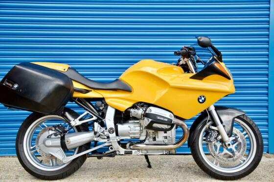 1999 BMW R1100S YELLOW - VERY LOW MILES - FREE DELIVERY