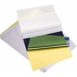 25 Pcs Tattoo Transfer Paper Carbon Thermal Stencil Tracing Hectograph A4 Size