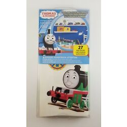 Thomas And Friends New Peel And Stick Wall Decals With Used Mattel Train