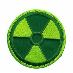Radioactive Radiation Green Slightly Toxic 3 inch Patch PW F5D13I