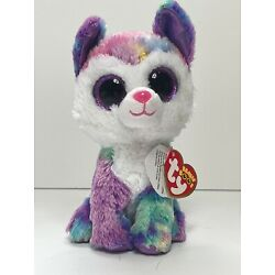 Ty Beanie Boos - IZABELLA the Husky Dog (6 Inch)(Claire's Exclusive) w/ Tag