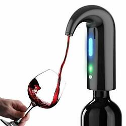 Electric Wine Aerator Smart Portable Wine Pourer Onetouch Automatic Wine Decan