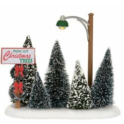 Department 56 Village Lighted Christmas Tree Lot Accessory Figurine 4054239 New