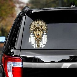 Wolf Native Decal