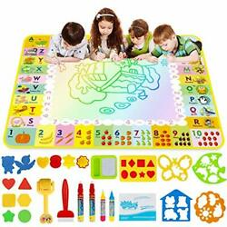 LOYO Doodle Mat Large Size 47'' X 35'' of Water Drawing Mat for Kids with X-Large