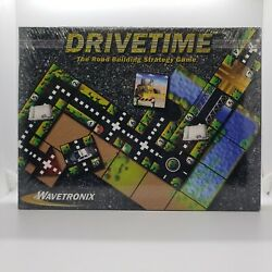 DRIVETIME The Road Building Strategy Board Game from Wavetronix New Sealed Box
