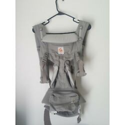 Ergobaby Omni 360 Cool Air Mesh Baby Carrier, All Positions  Grey Weave complete