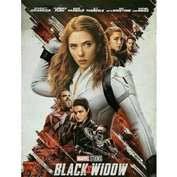 Black Widow - Marvel Universe (DVD, 2021) New & Sealed FREE Shipping