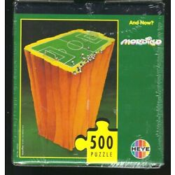 And Now? 500 Piece Puzzle by Mordillo NEW Still Sealed Football Soccer Theme