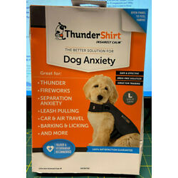 ThunderShirt Insanely Calm For Dog Anxiety - Large - Solid Gray