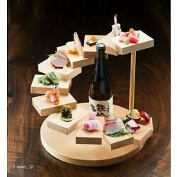 Three-dimensional inclusion [spiral] kitchen, display stand / Made in Japan