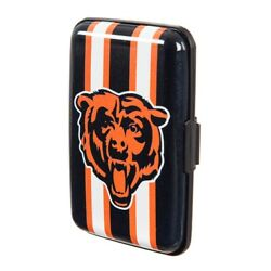 Chicago Bears Hard Case Wallet Card Holder - Authentic NFL Product