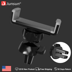 Junsun  Air  Vent 360° Mobile Phone Holder Car Mount Cradle Stand for Mobile