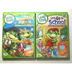 Leapfrog Let's Go to School & Numbers Ahoy Learning Skills DVD Set