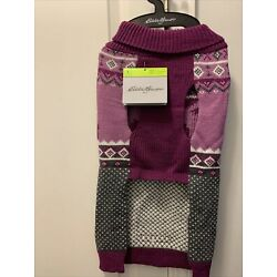 New With Tags Eddie Bauer pet sweater large