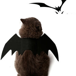 Halloween Bat Wings Pet Costume,Party Dress Up Funny Apparel,for Cat Little Dog