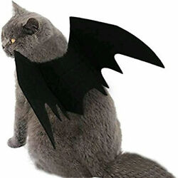 Halloween Cosplay Pet Costume Puppy Bat Wings Clothes For Dog Cat Dress Funny