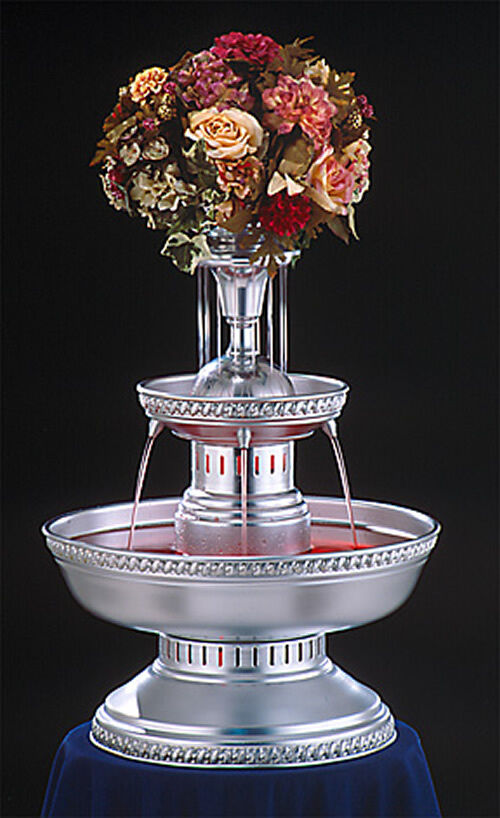 29 apex prince champagne punch bowl beverage fountain 5 for Decor 5 5 litre drink fountain