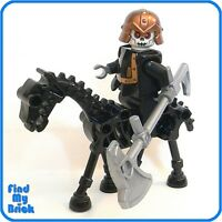 C807 Lego Castle Skeleton Knight Minifig with Sword NEW