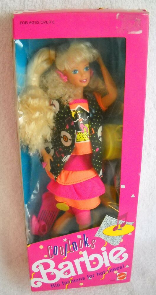 Cool Toys From Toys R Us : Nrfb mattel toys r us cool looks barbie special