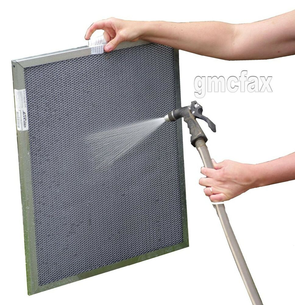 Best furnace air filters for allergies - 14x30x1 Electrostatic Furnace Air Filter Washable Permanent Lifetime Warr Ebay