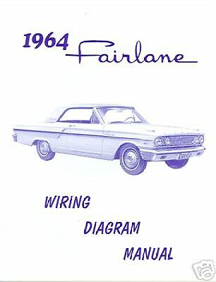 1964 FORD FAIRLANE WIRING DIAGRAM MANUAL | eBay