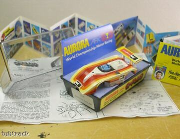 1978 afx g shadow can am with clam shell slot car box ebay. Black Bedroom Furniture Sets. Home Design Ideas