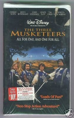 Oliver Platt Musketeers Three Musketeers VHS D...