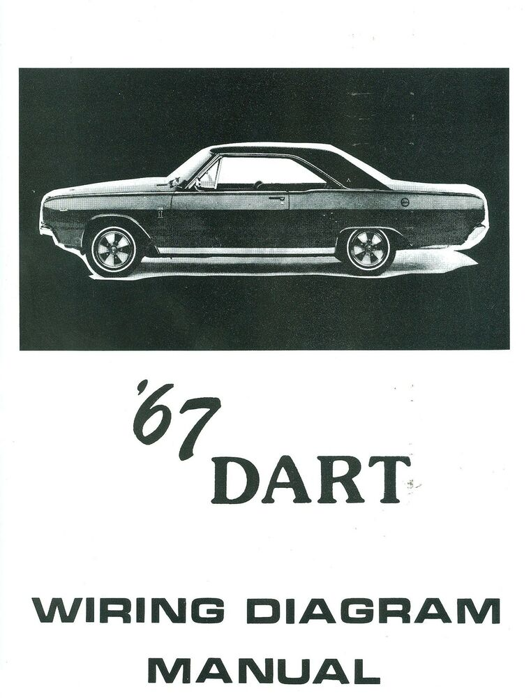 1967 67 Dodge Dart Wiring Diagram Manual