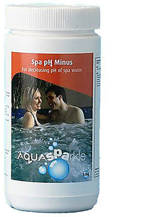 ph aquasparkle minus reducer hot tub spa spas hottubs pool decreaser ebay. Black Bedroom Furniture Sets. Home Design Ideas