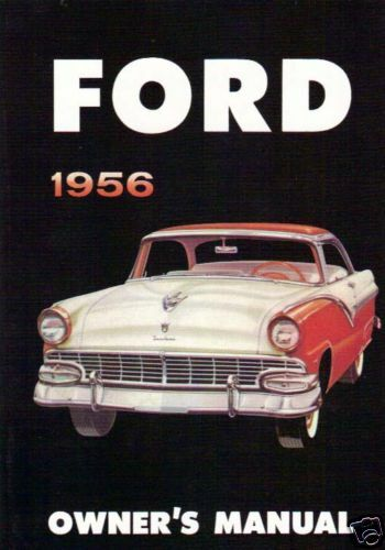 ford owners manual full size ebay