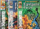 FANTASTIC FOUR FIREWORKS #1-#3 SET (NM) MARVEL REMIX