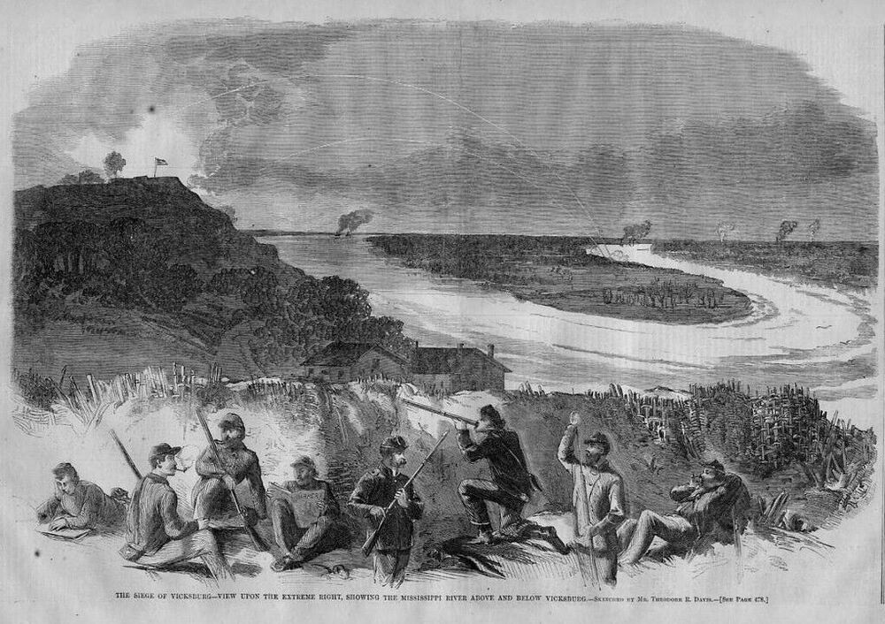 Battle of vicksburg date in Melbourne