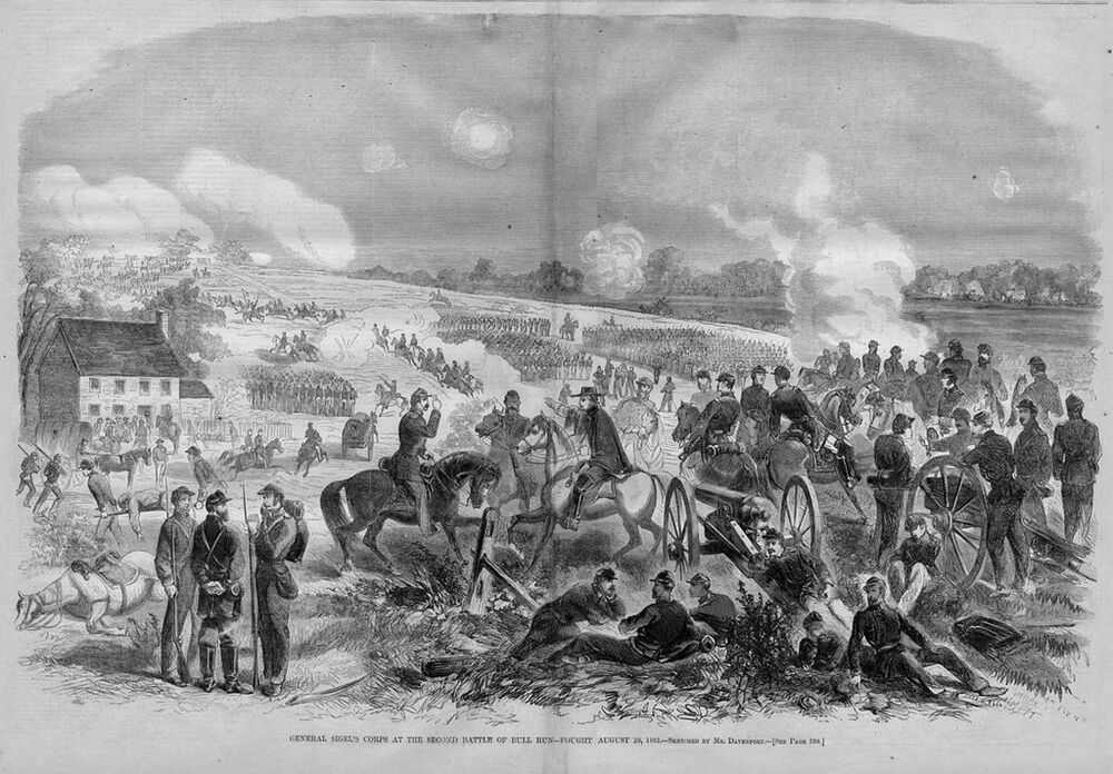 CIVIL WAR BATTLE OF BULL RUN, GENERAL SIGEL, HISTORY | eBay