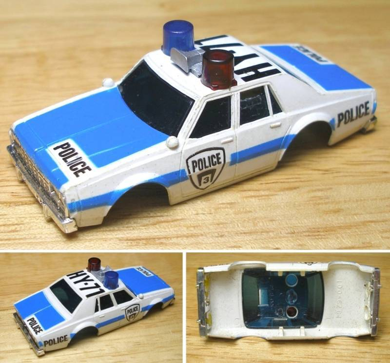 Police Cars For Sale >> 1979 Aurora AFX 1979 Chevy Pursuit Police Slot Car BODY | eBay