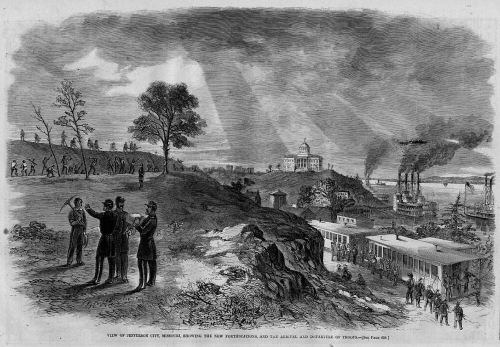 the impact of the civil war in the state of missouri Us civil war in government documents: home  war information from federal or missouri state government  civil war information from other state.