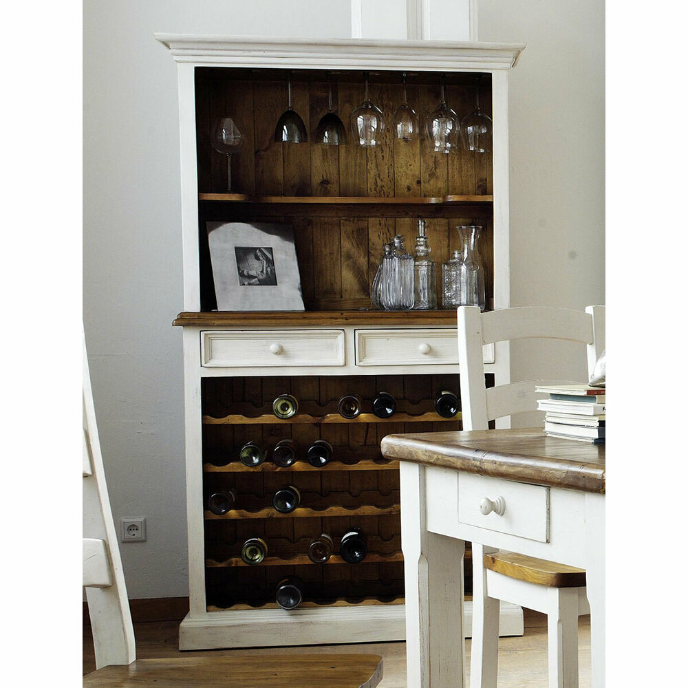 buffet bodde weinschrank kiefer massiv wei honig. Black Bedroom Furniture Sets. Home Design Ideas