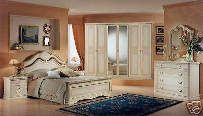 komplett schlafzimmer schrank bett kommode m bel italien modisch trendy matt ebay. Black Bedroom Furniture Sets. Home Design Ideas