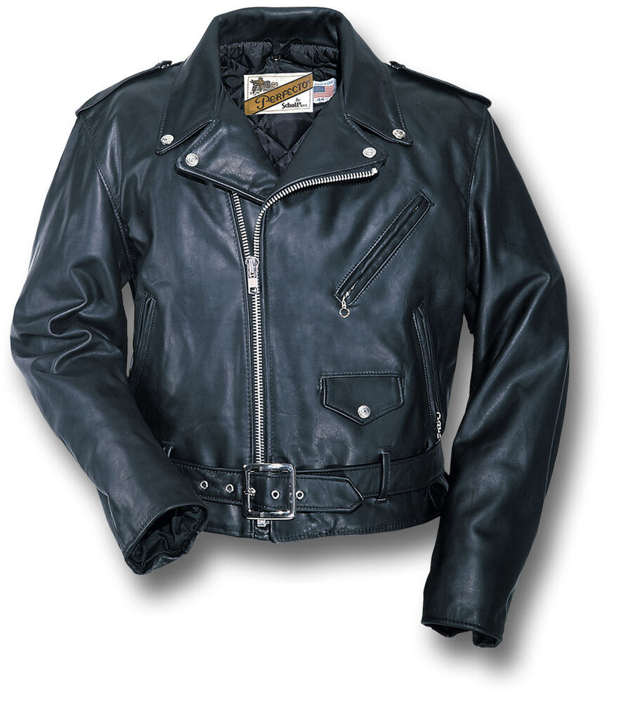 schott nyc perfecto motorcycle leather jacket 70300 ebay. Black Bedroom Furniture Sets. Home Design Ideas
