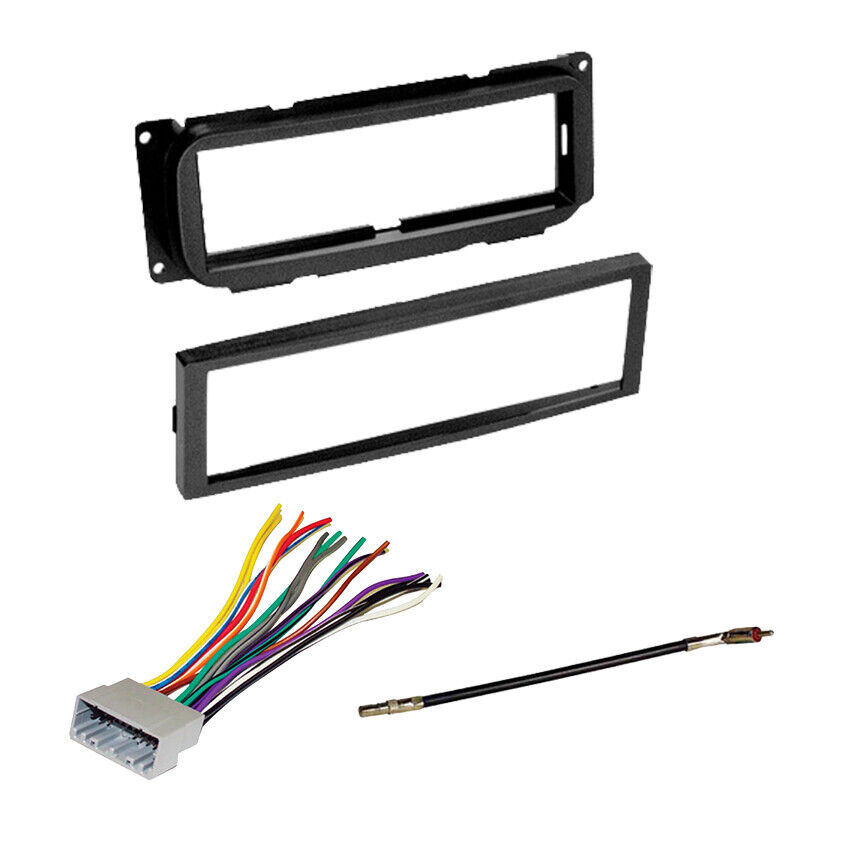 jeep wrangler radio stereo dash kit harness adapter ebay