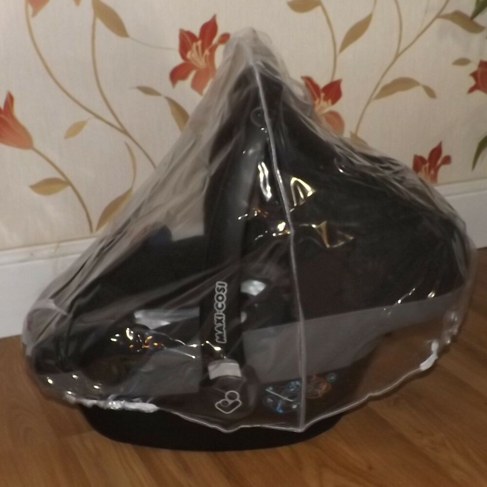 universal car seat raincover fit all carseat rain cover ebay. Black Bedroom Furniture Sets. Home Design Ideas