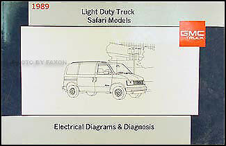 gmc wiring diagrams 1989 gmc safari van wiring diagram manual original ... 1989 gmc wiring diagrams
