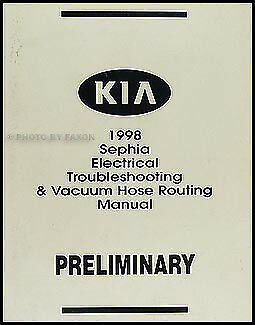 1998 kia sephia electrical troubleshooting manual wiring. Black Bedroom Furniture Sets. Home Design Ideas