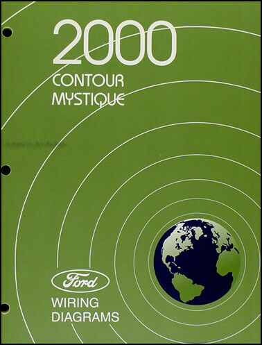 2000 ford contour and mercury mystique wiring diagrams originaldetails about 2000 ford contour and mercury mystique wiring diagrams original electrical book